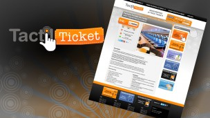 TactilTicket - vista previa del theme