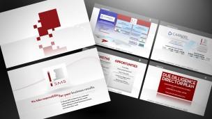 Grupo SMS - presentación corporativa, pantallas de intro y plan de negocios