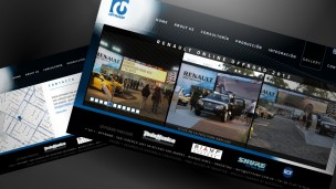 Offramp - sitio web detalle de galería y contacto