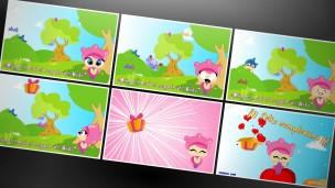Tarjetas.com - Tarjetas animadas Kiki el regalo escondido