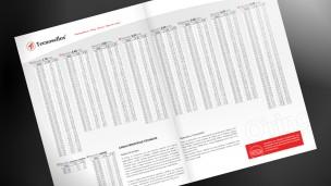Tecnosellos - folletos interior con tablas de medidas