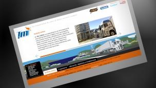 TM Cargo - sitio web portada