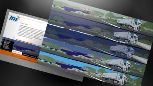 TM Cargo - sitio web cambio en la animación según la hora del visitante